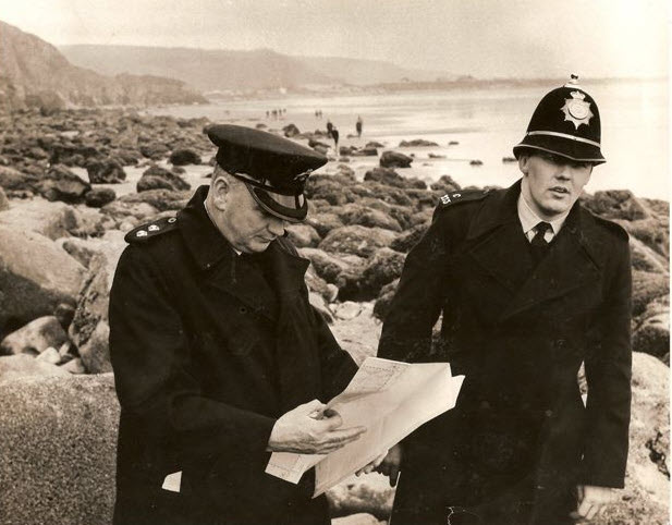 Misper search at Pendine Beach in 1973