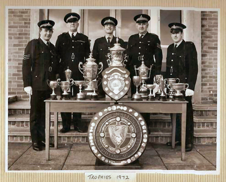 First Aid Trophies 1972